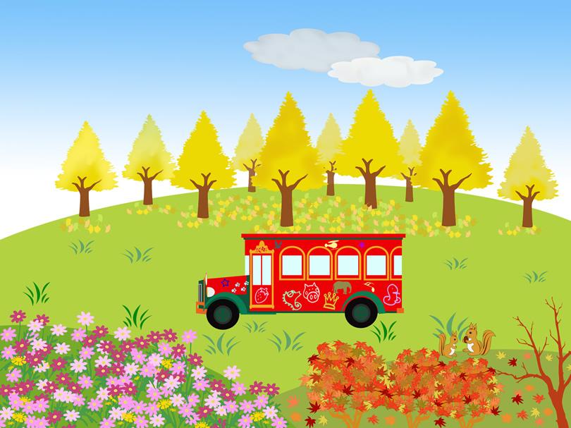 バスの風景